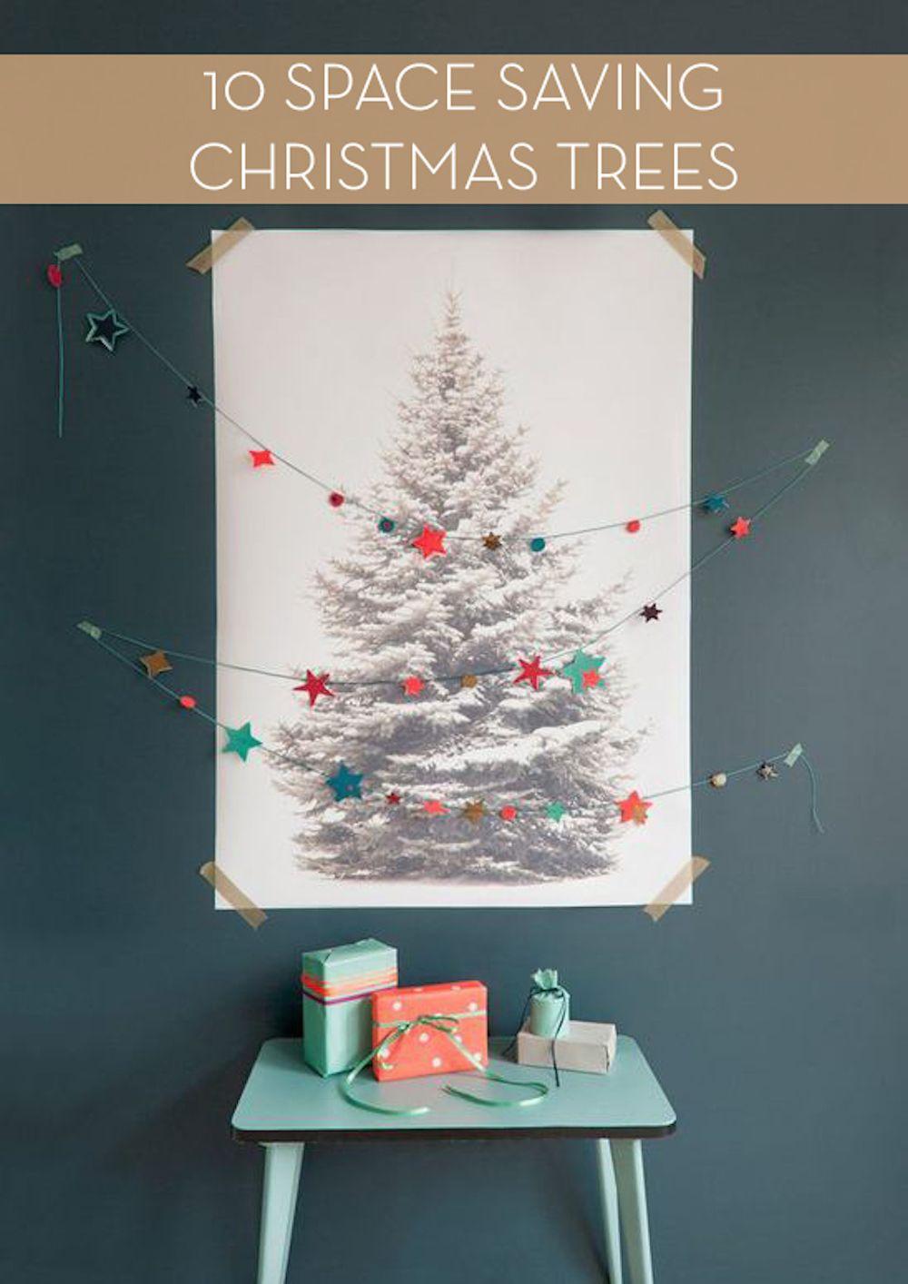 SPACE SAVING CHRISTMAS TREE