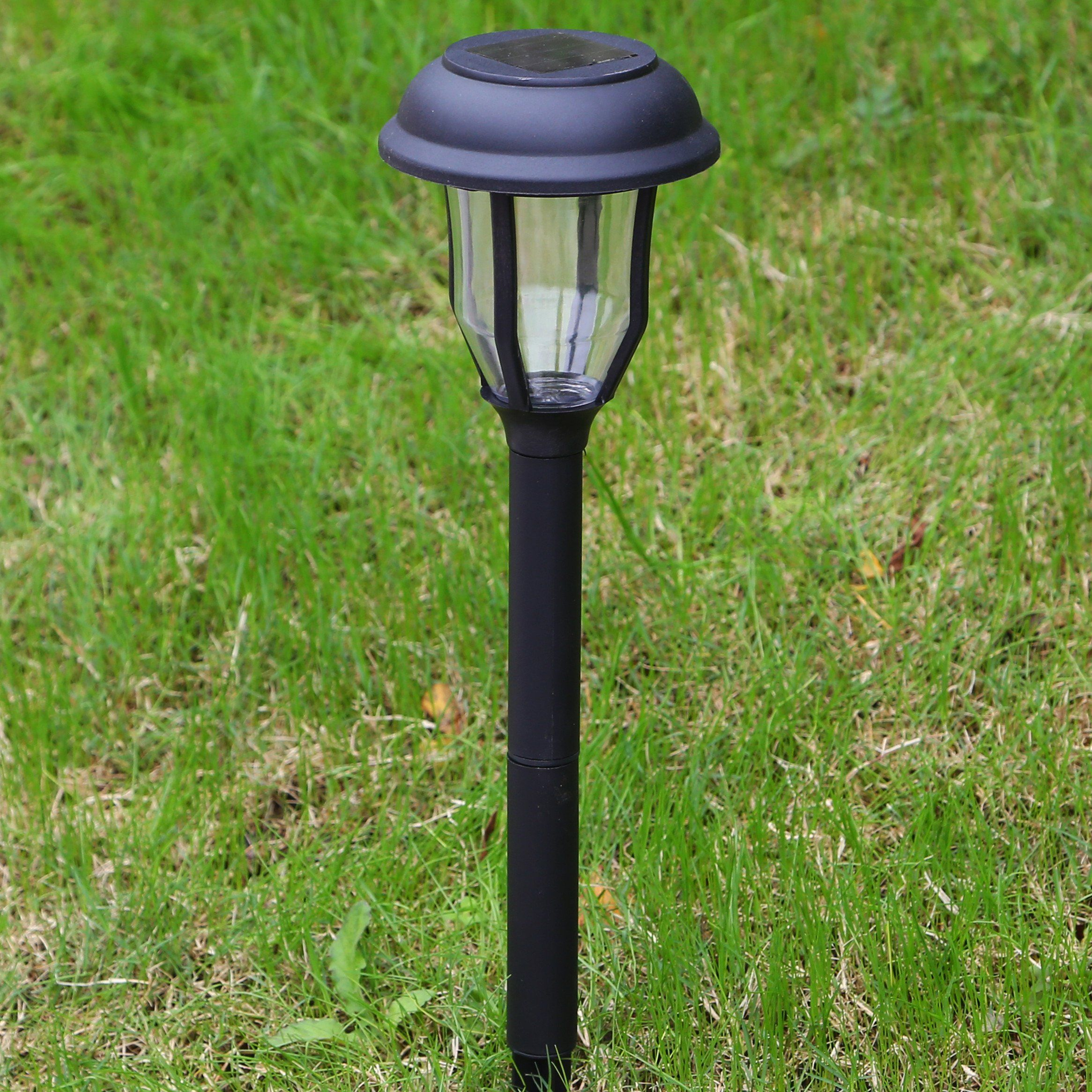 Solar Pathway Lights Outdoor Garden Path Decorative Stake Light Dual Color Led Landscape Home Decor Sogrand Waterproof Bright Yard Decorations Stakes For