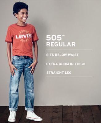 ccf64363115 Levi s 505 Regular Fit Jeans