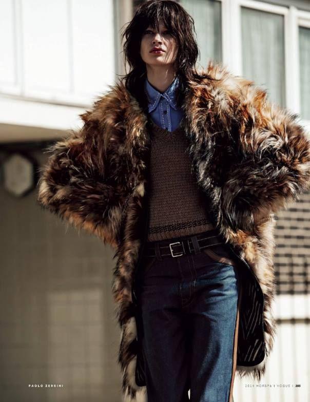 Rodeo Drive  Publication: Vogue Russia November 2014 Model: Anna Lund Photographer: Paolo Zerbini Fashion Editor: Svetlana Tanakina Hair: Panos Papandrianos Make-up: Marie Duhart