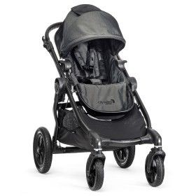 949 Was 1 029 Baby Jogger City Select Black Frame Stroller Charcoal The Bab Baby Jogger City Select Baby Jogger City Select Stroller City Select Stroller