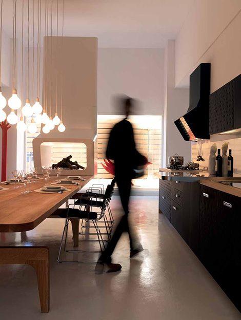 Interesting Kitchens   Urban Kitchen Design By Schiffini