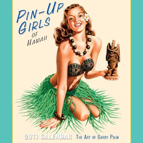 Tiki Inspired PinUp Girl Necklace