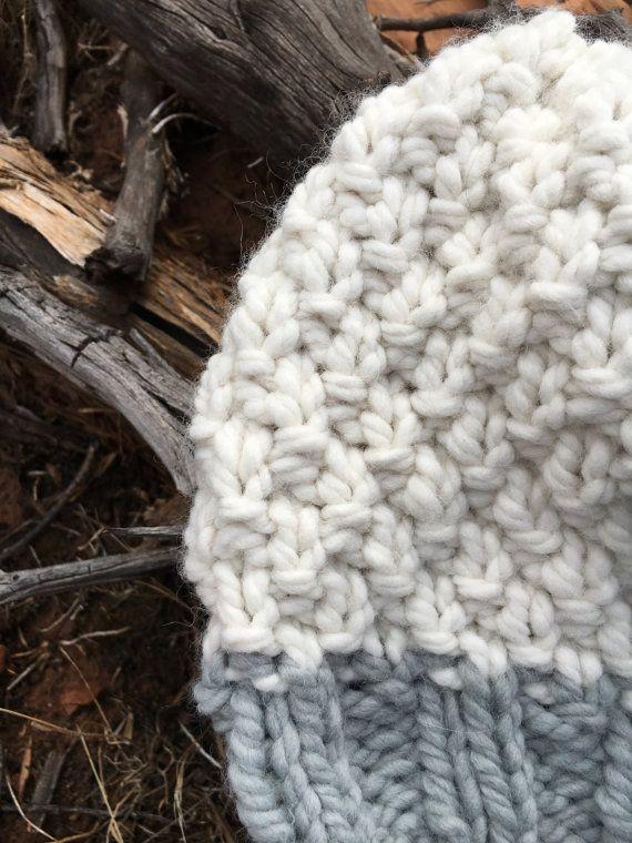 Knitting Pattern Slouchy Pattern Hat Pattern Super Bulky Knit