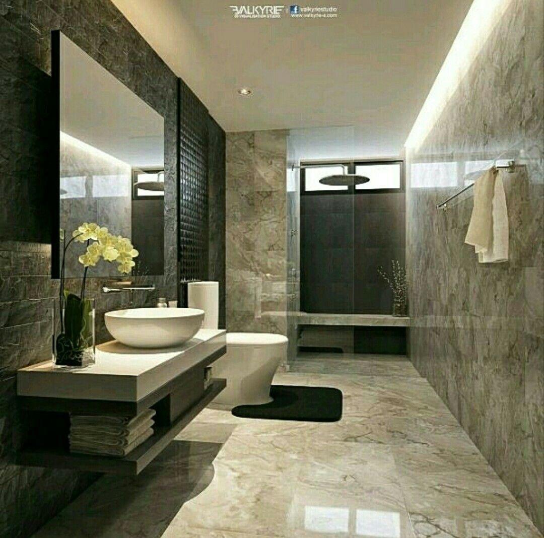 Elegant Bathroom Diseno De Banos Estilo De Bano Cuarto De Bano Minimalista