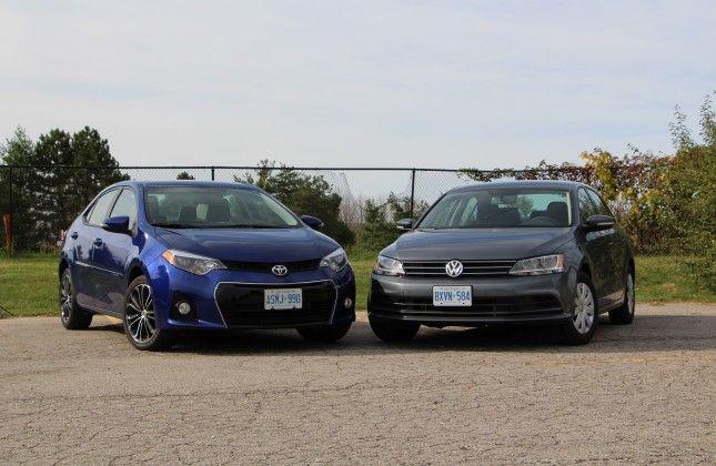 Comparison Test 2017 Toyota Corolla Vs 2016 Volkswagen Jetta Autos Ca