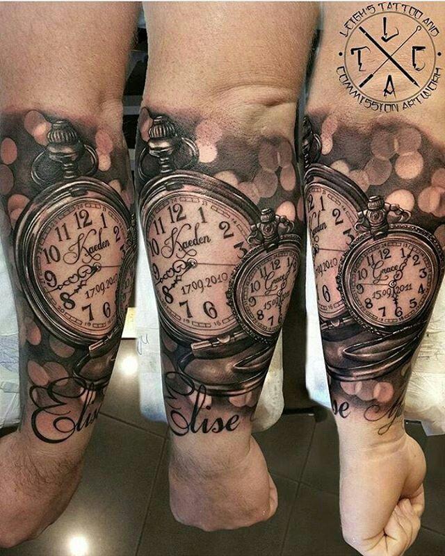 Männer tattoos mit kindernamen