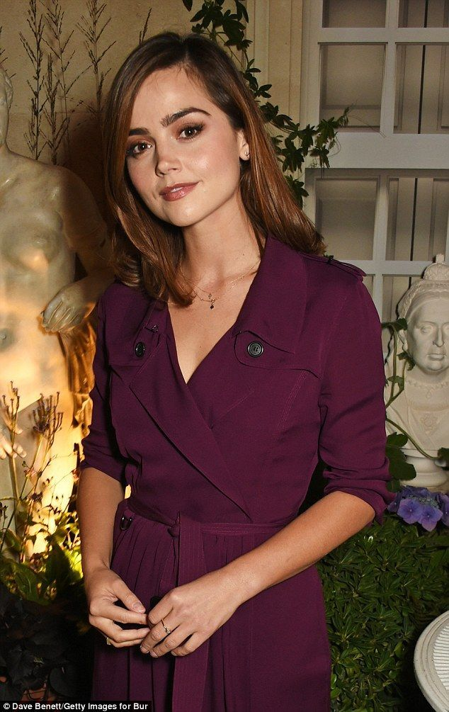 Jenna Coleman elegant at Burberry bash amid Tom Hughes romanc claims
