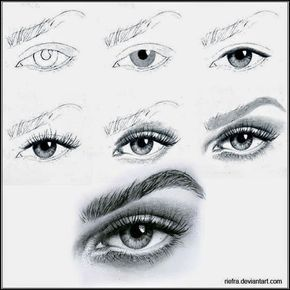 how two draw amazing eye step by step all new fine art material