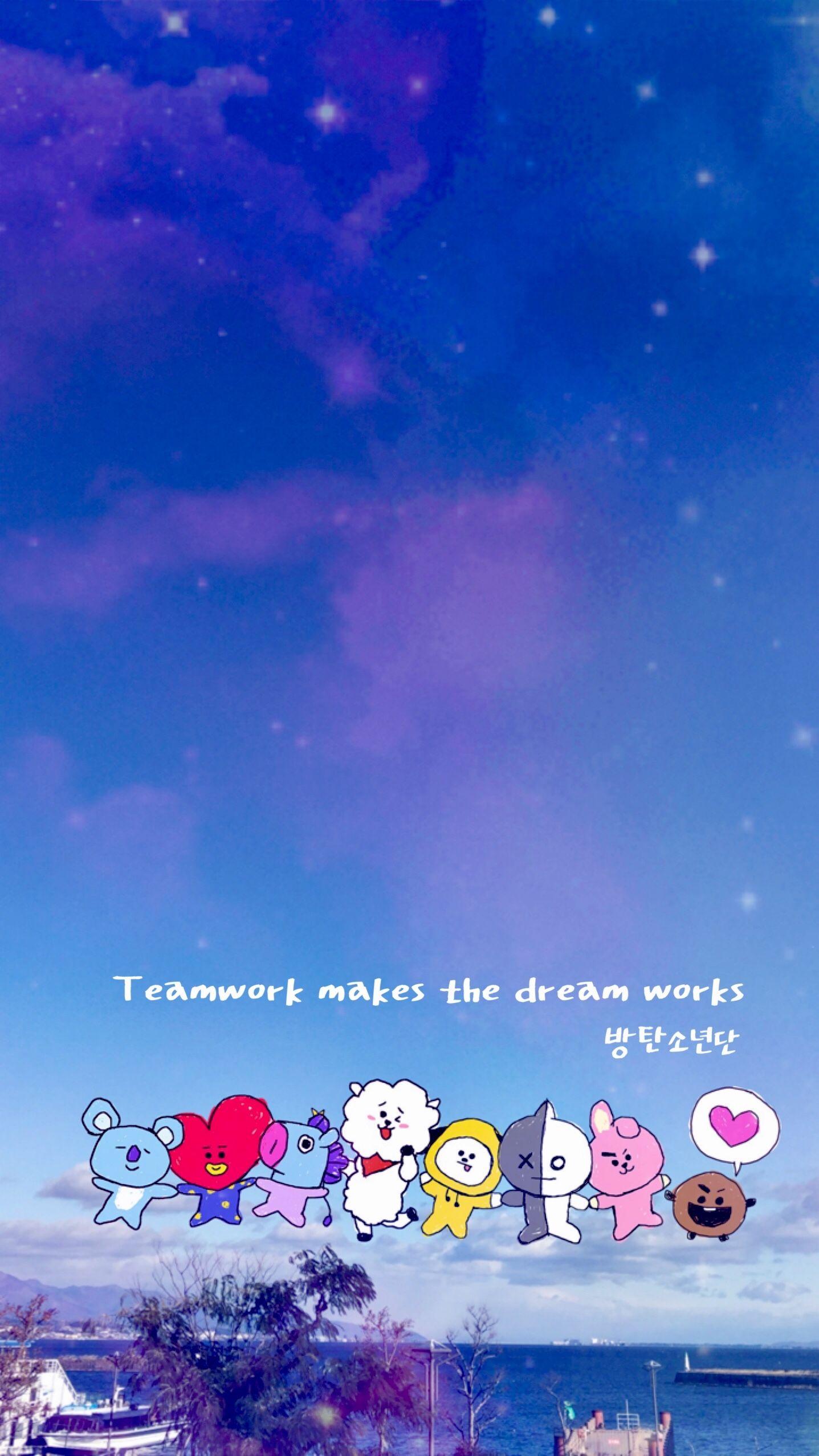 BT21 home screen wallpaper ©mehh._janice BT21