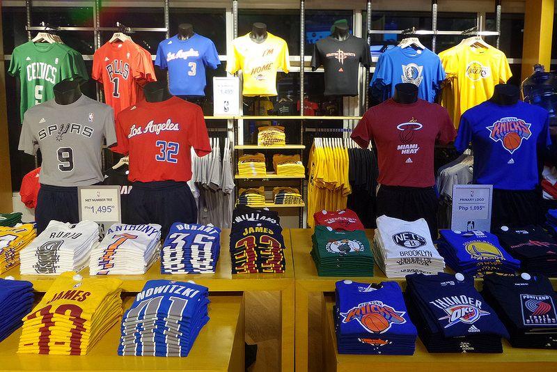 4b3b918ebe75 NBA store opens in Glorietta