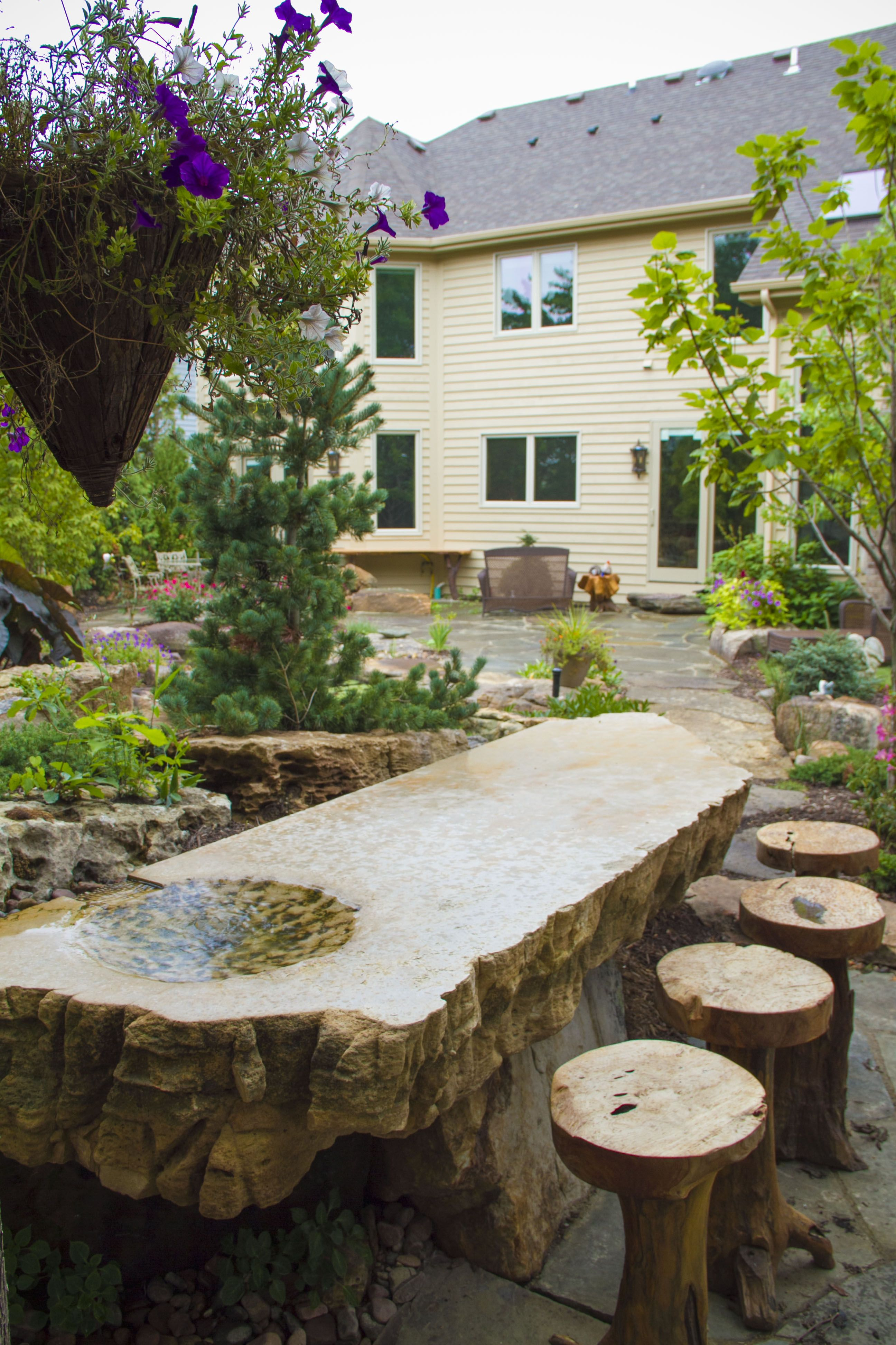 Water Gardens, Water Features, Backyard Ponds By Aquascape