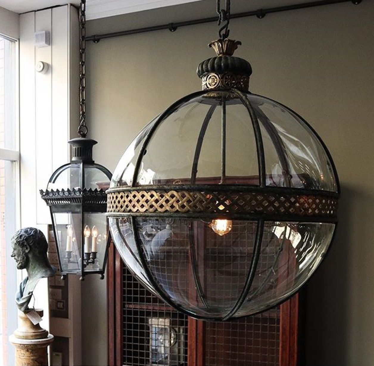 Jamb Co Uk Lighting Pendant Globe