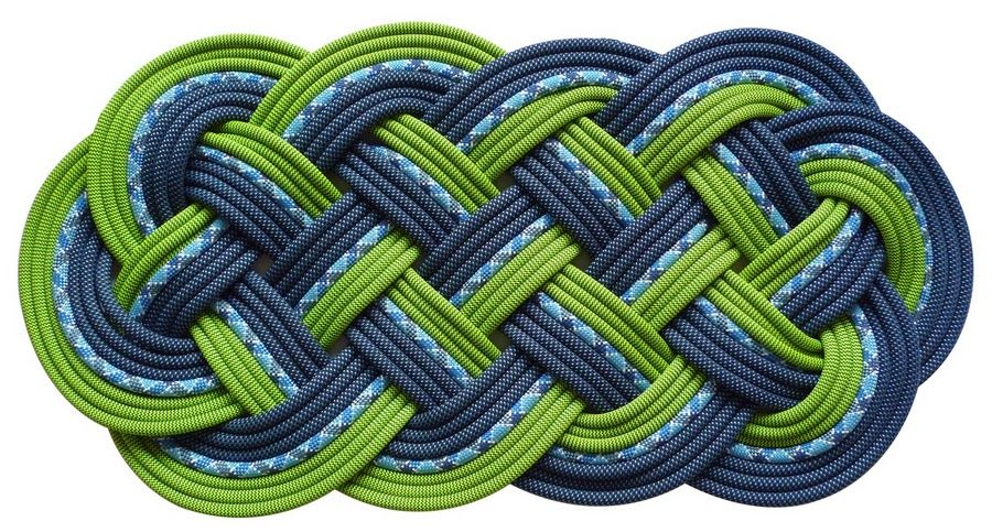 how to make a climbing rope mat