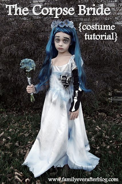Uma potencial fantasia! ;) Scary Pinterest Corpse bride - scary diy halloween costumes
