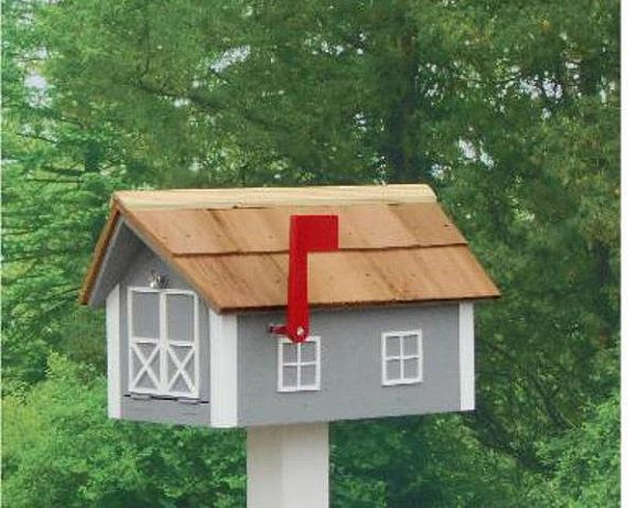 Best Amish Made Painted Mailbox By Amishbaskets On Etsy 400 x 300