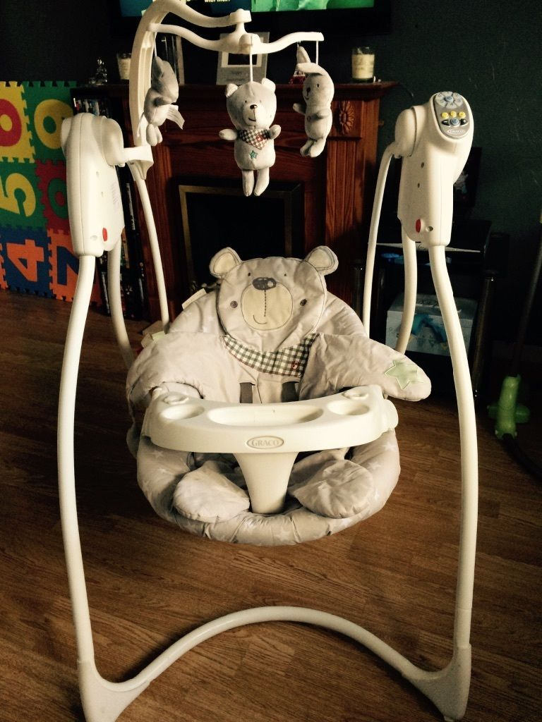 Graco baby swing - Graco baby swing seat can sit up and lie down : reclining baby swing - islam-shia.org