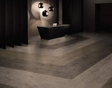 Stone Flooring Made From Various Stone Products From Amtico Signature.