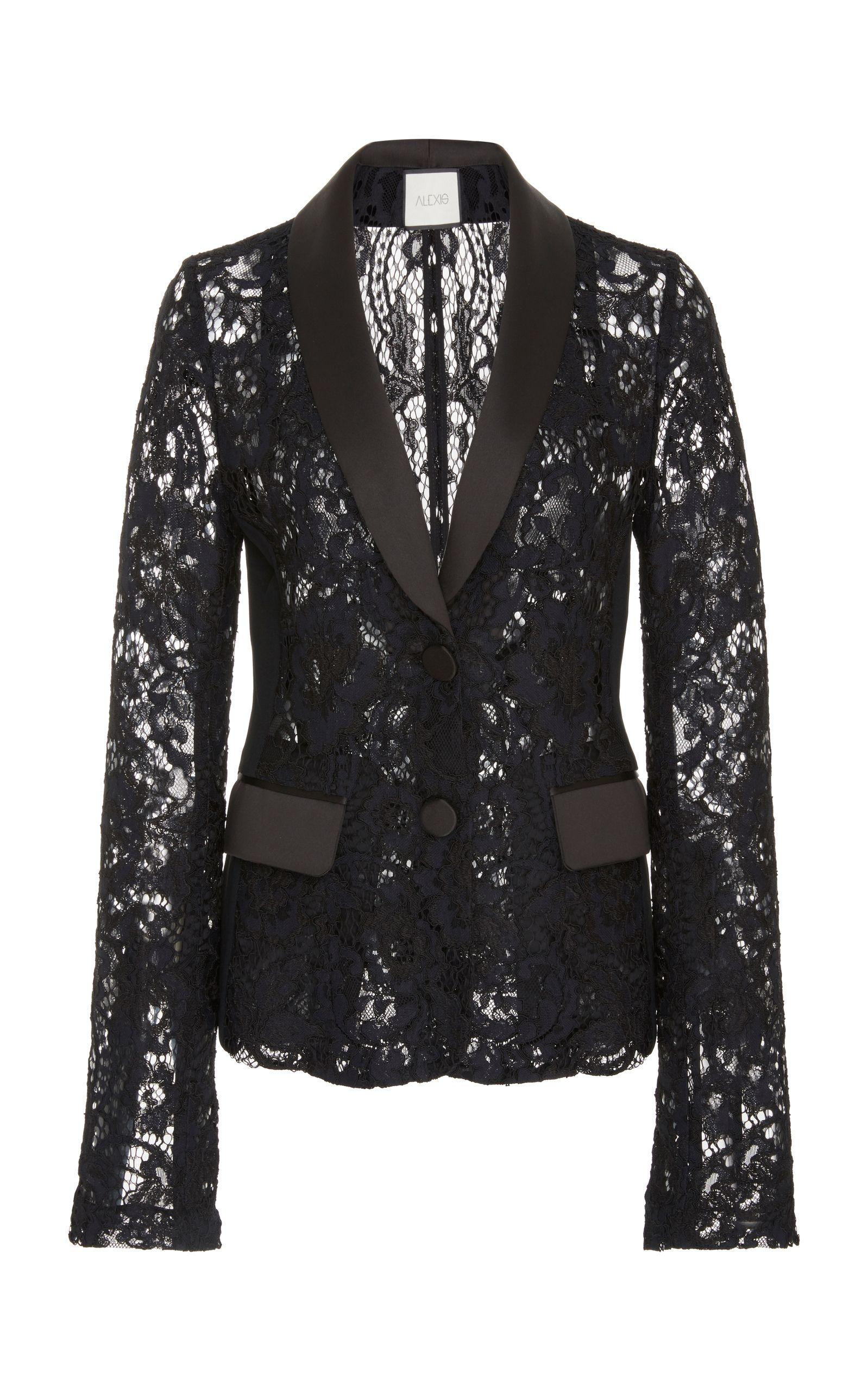 Alexis Luella Lace Blazer Lace Blazer Blazer Lace Jacket