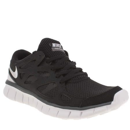womens nike free run v2 ext trainers