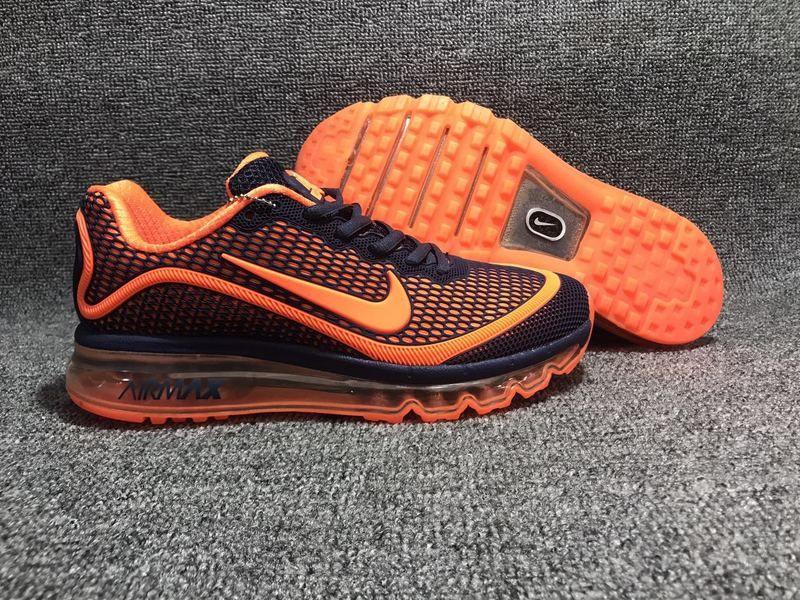New Nike Air Max 2017.5 KPU Carbon Gray Orange Men
