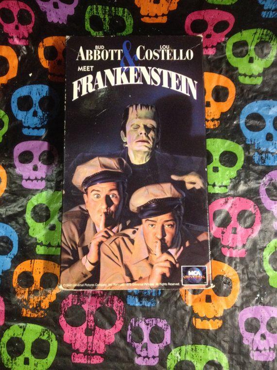 Abbott & Costello Meet Frankenstein VHS by HECTORSVINTAGEVAULT