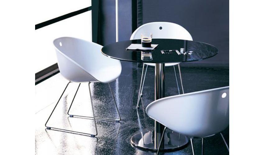 Table Et Chaise Gliss Pedrali Equinoxe Mobilier Paris Mobilier Table A Manger En Verre Dessus De Table En Verre