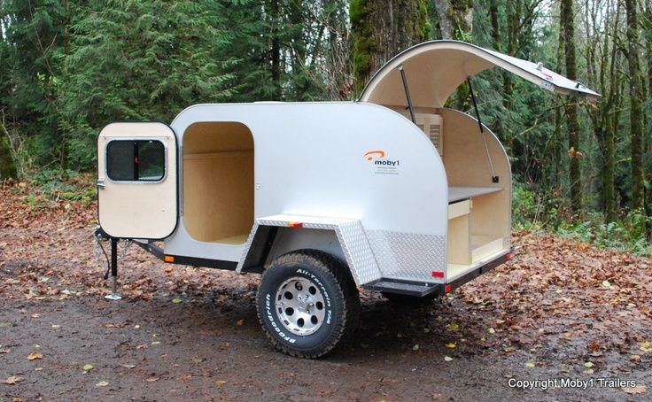 Motorcycle Camping Trailers Moby 1 Mini Camping Trailer