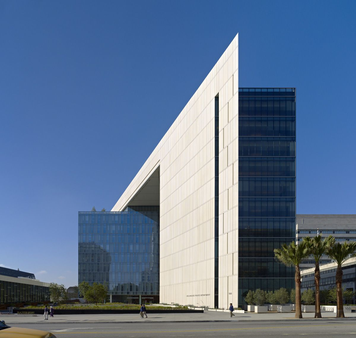 Los Angeles Police Headquarters Architecture Building Architecture Project