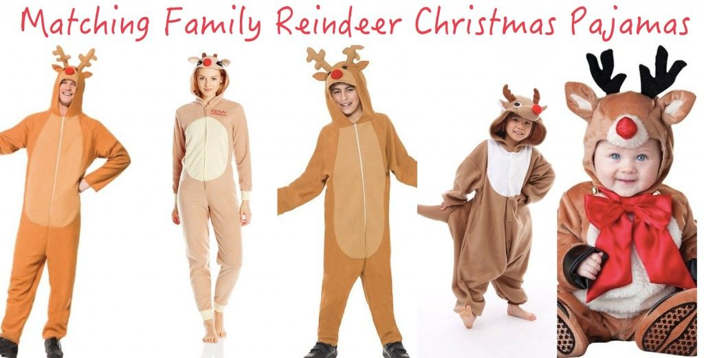 6e8e8cef Matching Family Reindeer Christmas Pajamas | Holiday Matching Family ...