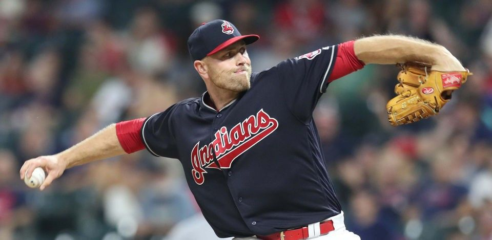 Cleveland Indians Jon Edwards struck out the side against