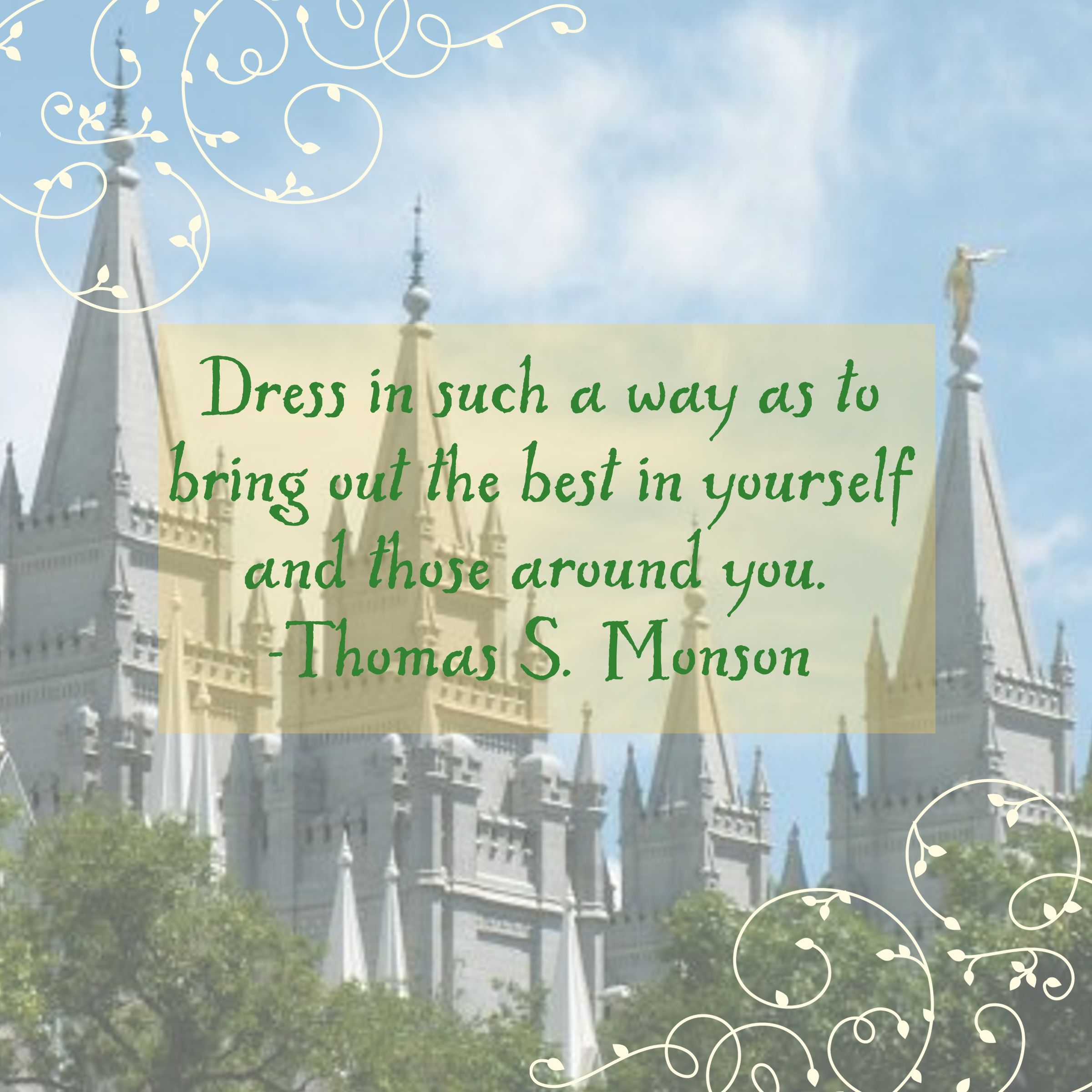 Lds missionary quotes or thoughts quotesgram - Modest Dress Quotes Quotesgram