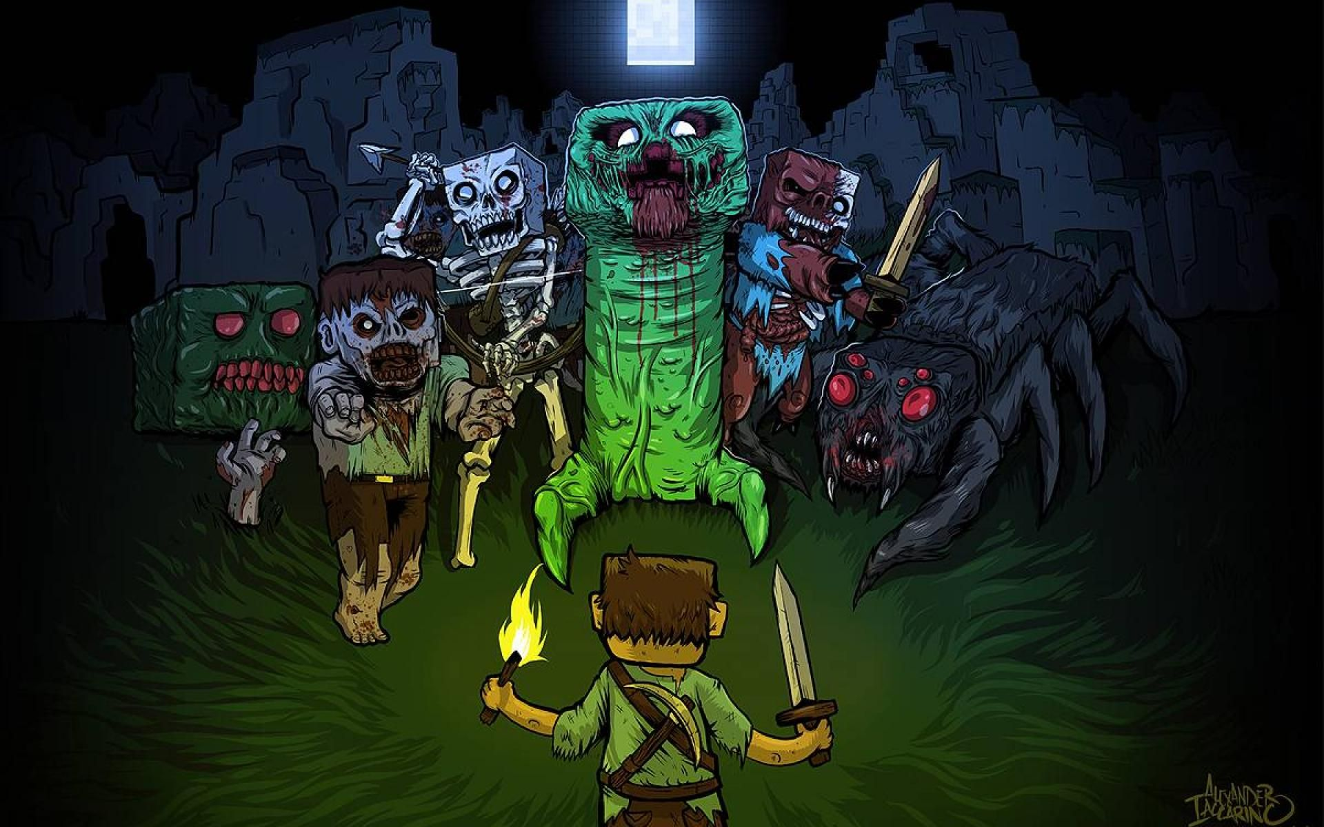 Cool Minecraft Backgrounds Wallpaper 1920x1200 Wallpapers 28