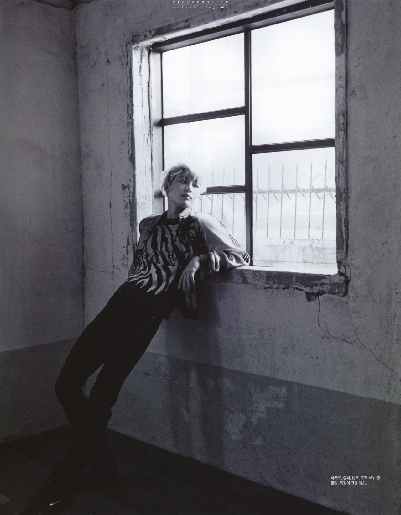 Taemin for Singles March Issue (1)