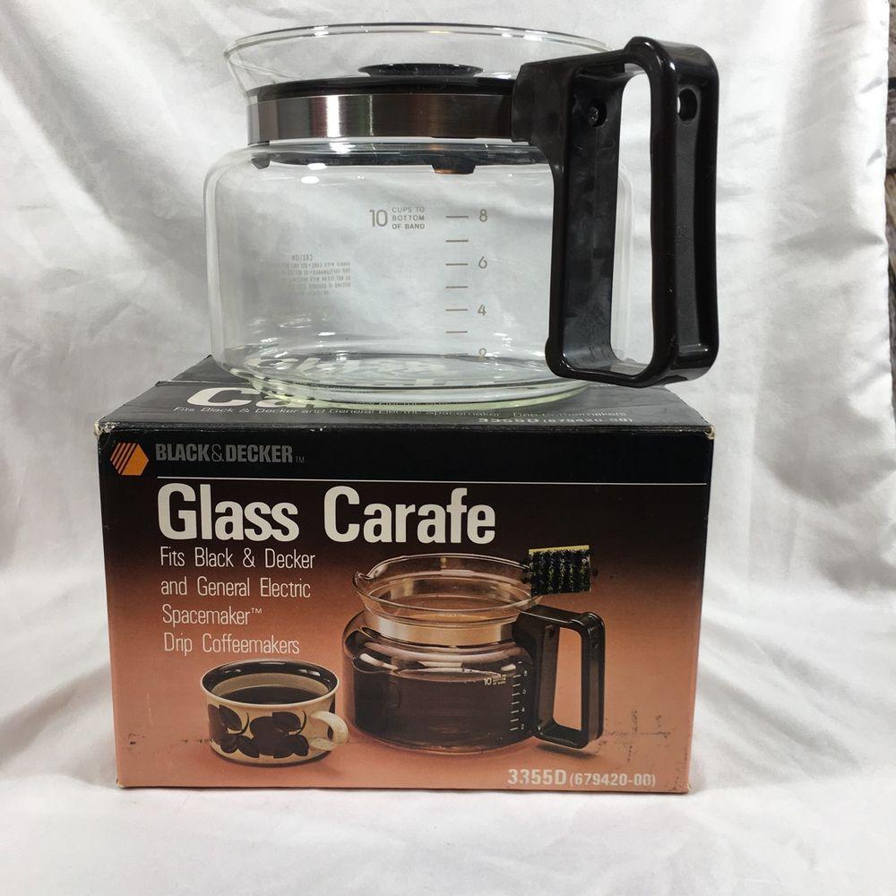Black & Decker GE Spacemaker Drip Coffeemaker Replacement