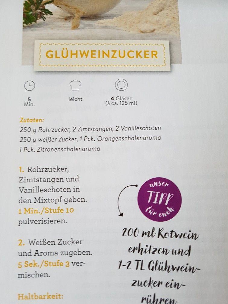 Gluhweinzucker Thermomix Thermomix Geschenke Geschenke Aus Der Kuche Geschenke