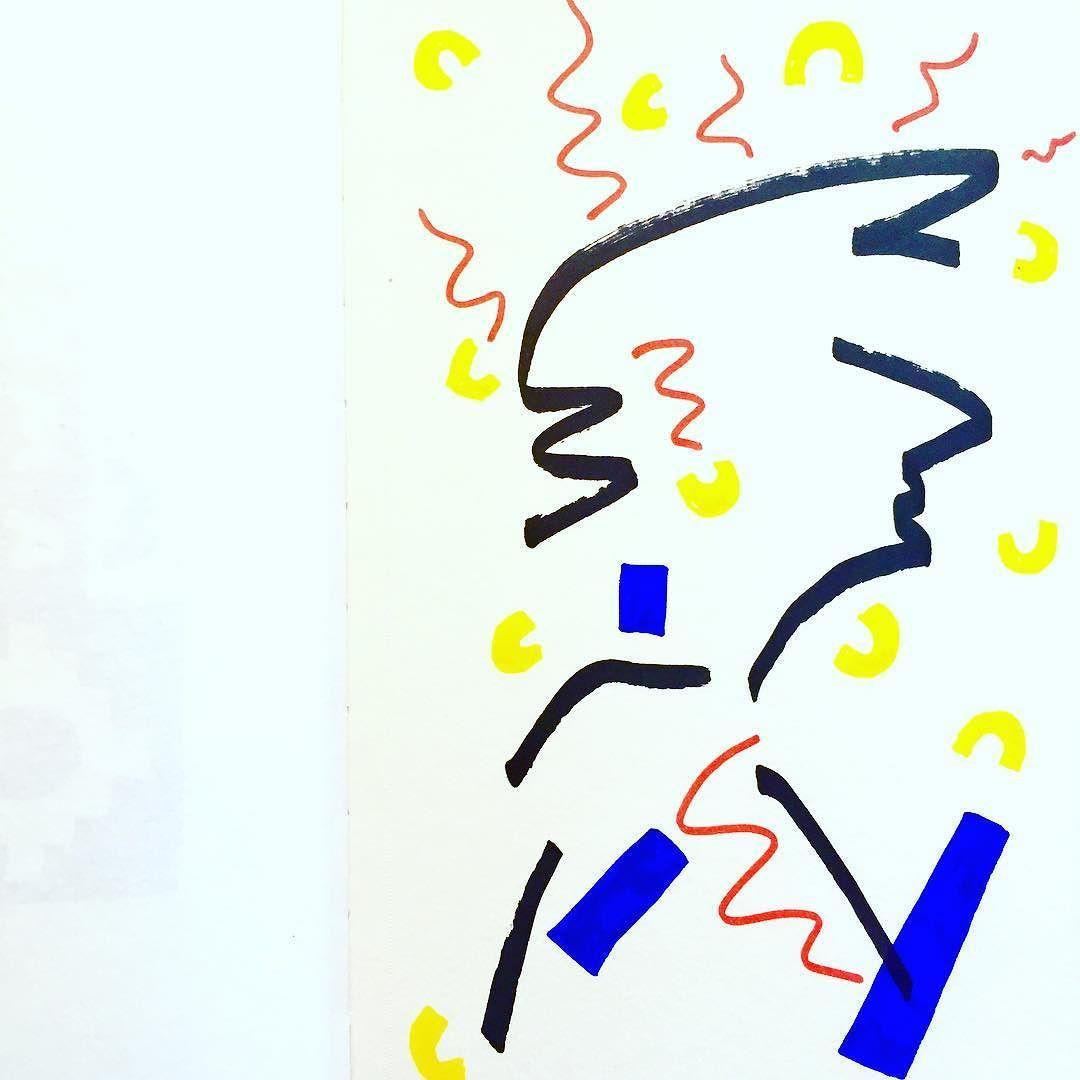 Work copyright  Andrew Oyl Miller oylmiller@gmail.com Society6 Shop - Instagram - Facebook Fury in macaroni dust. #art #illustration #editorial #drawing #instaartist #oylmiller #sketchbook