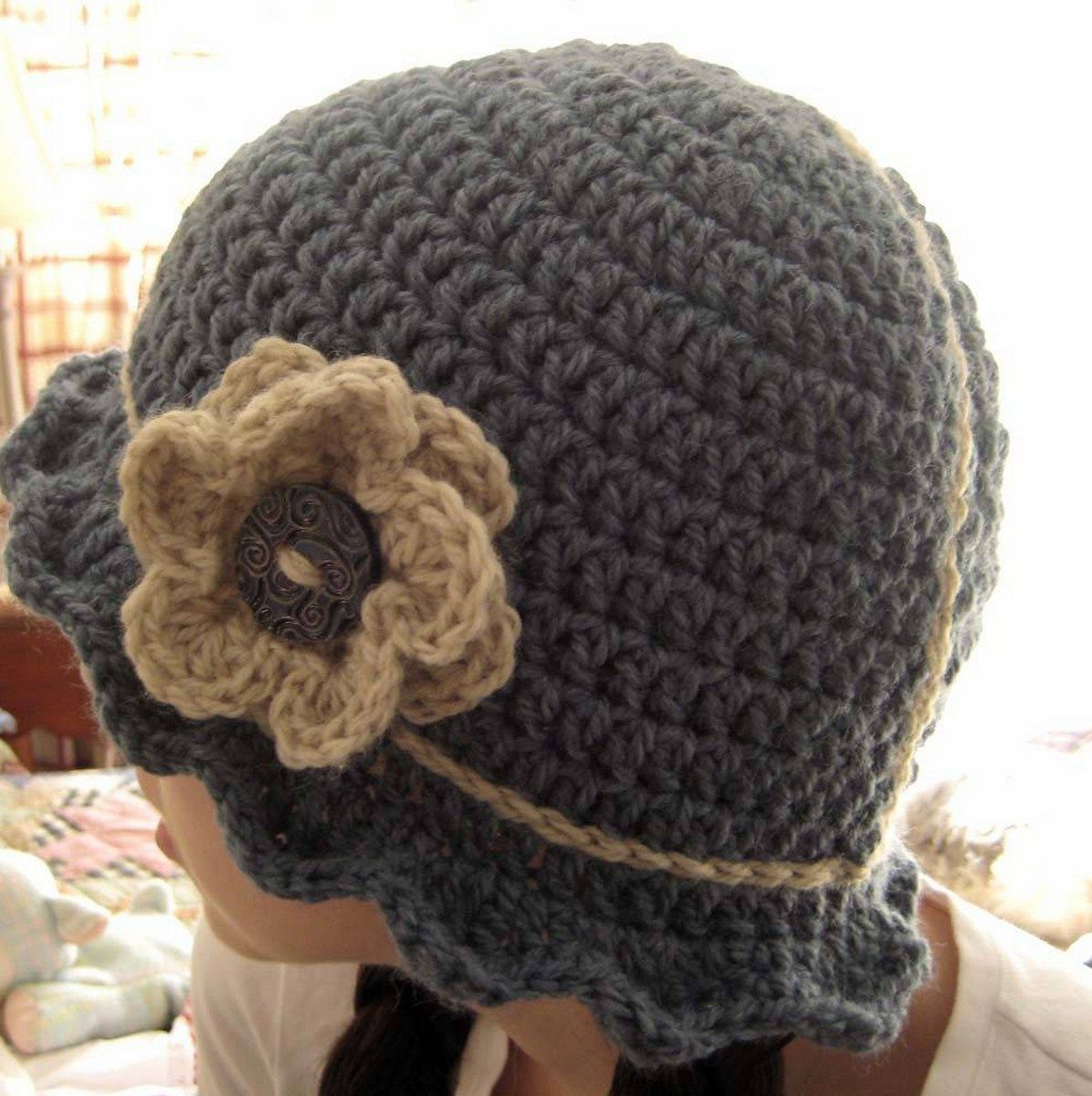 crochet flapper cloche hat pattern trend | gorros | Pinterest ...