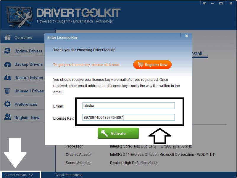 Скачать ключ для driver toolkit бесплатно