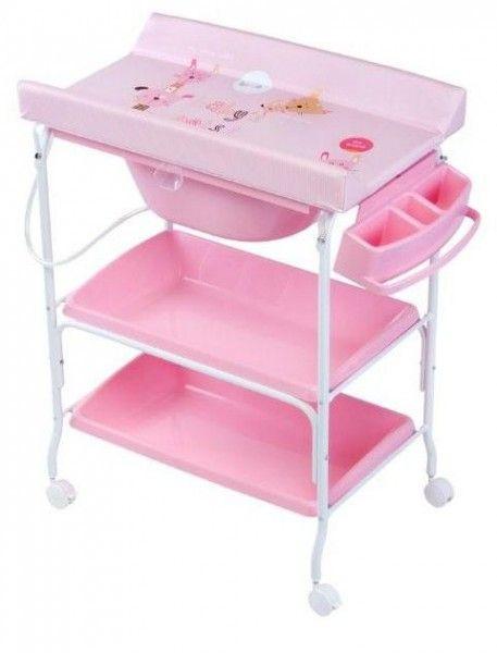 Bañera Cambiador Dos Bandejas King Baby Gatito Rosa 1835gr 98 51 La Tienda Online Para Tu Pek Organização De Cômoda Roupas De Bebê Menina Roupas De Bebê