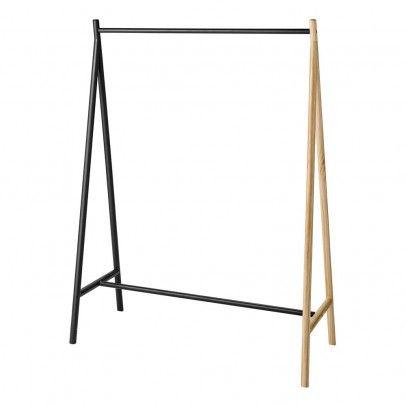 Kleiderständer Holz kleiderständer für aus metall grau kleiderständer holz und