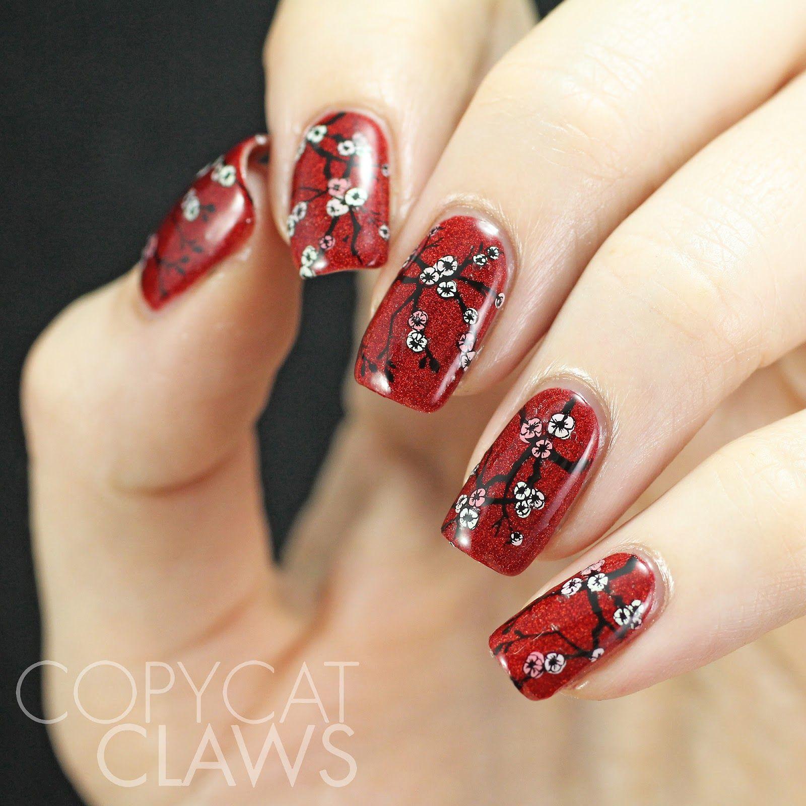 Sunday Stamping - Chinese New Year Nails | My life nails | Pinterest ...