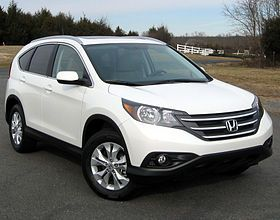My new ride!! White honda crv exl navi.