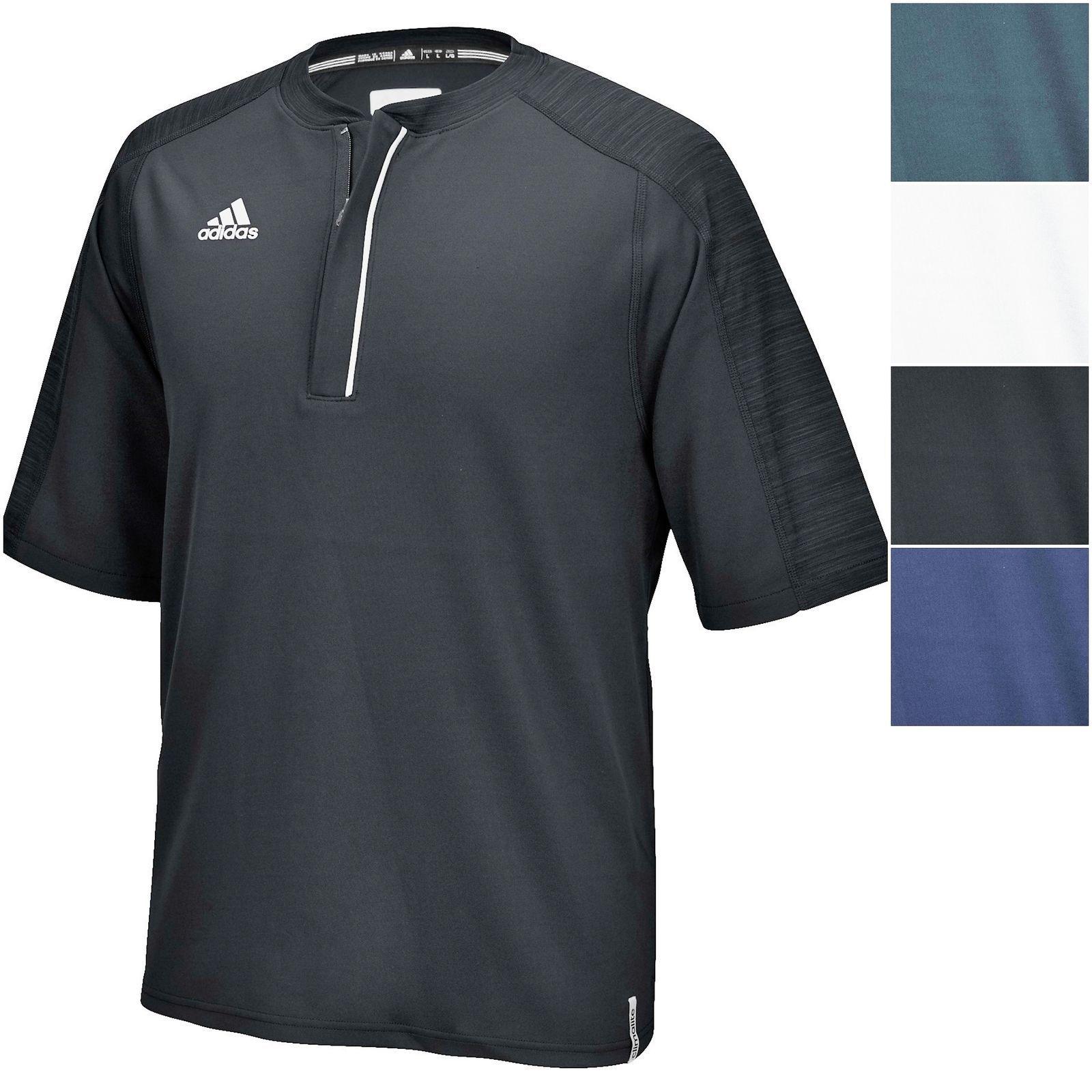 Adidas pour homme Climalite moderne Varsity complète Bouton Polo, Homme, bleu marine
