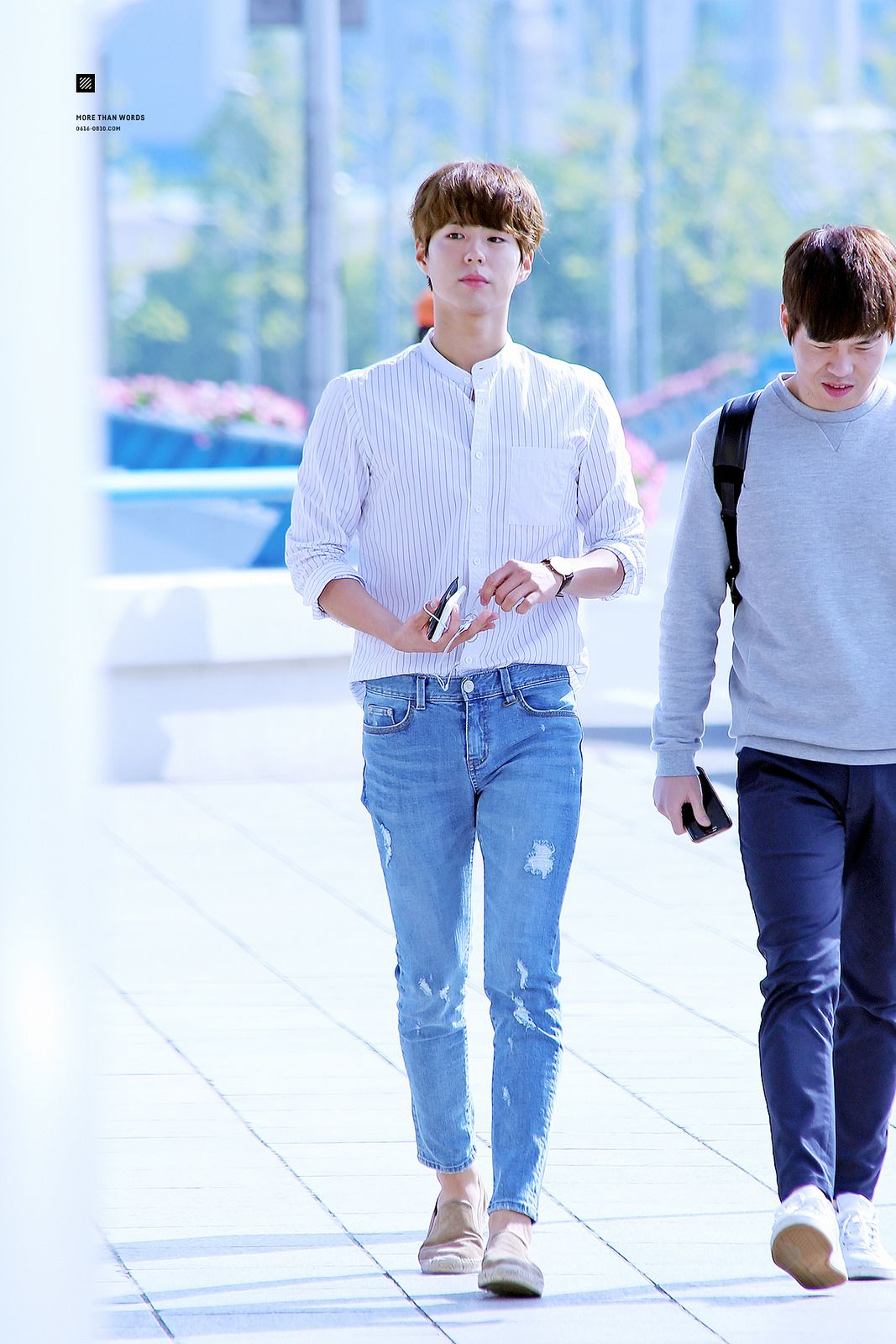 """c03d5483cbbf """"160514 ♡ gimpo airport (to beijing) more than words    do not edit or  remove watermark."""""""