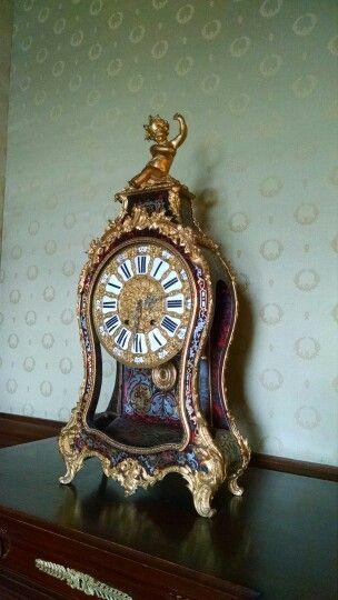 Reloj interior de habitacion castillo de chapultepec