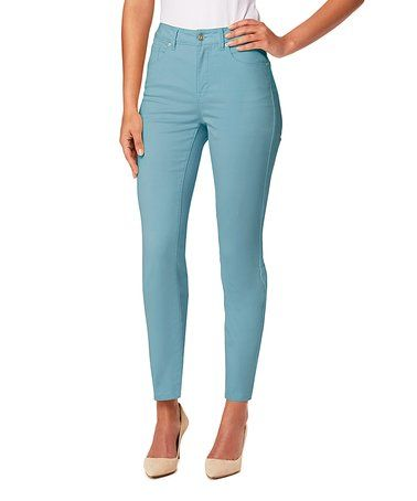 This Dusty Jade Faith Skinny Jeans is perfect! #zulilyfinds