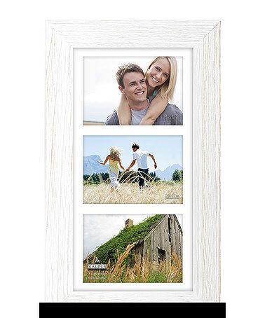 Loving This Rough White Manhattan Three Photo Frame On Zulily Zulilyfinds White Picture Frames Three Photo Frame Picture Frames
