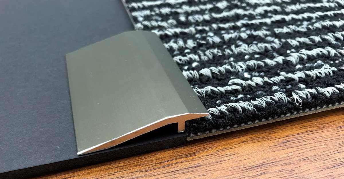 Clean Metal Reducer Carpet To Hard Floor How To Clean Metal Ceramic Tiles Floor Coverings