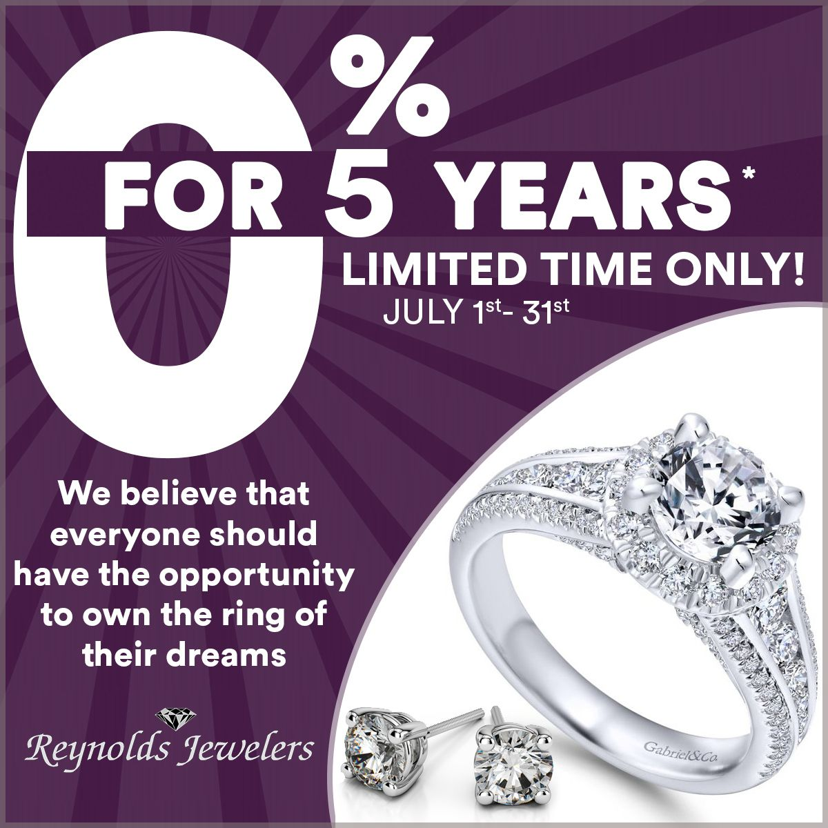 Yes We Have 0 Financing For 5 Years We Believe Everyone Should Have The Opportunity To Find The R Rings Gold Diamond Engagement Rings Engagement Rings